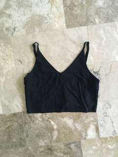 Mango Black crop cami