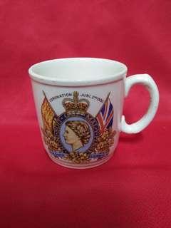 Mug Queen Elizabeth II 1953