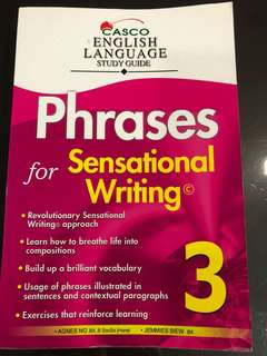 🚚 BN Primary 3 English guide- Phrases for Sensational writing