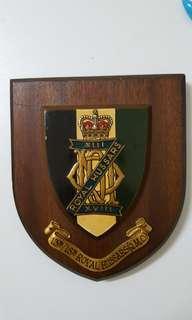 英軍13th/18th Royal Hussars (Q.M.O.)木盾