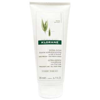 KLORANE蔻蘿蘭 燕麥全效潤髮乳 200ml 燕麥溫和  法國原裝進口 公司貨