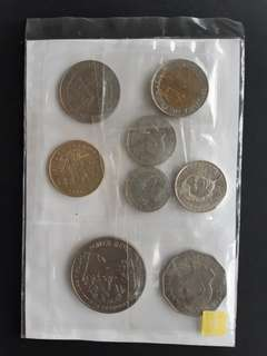 Lot of commemorative coins