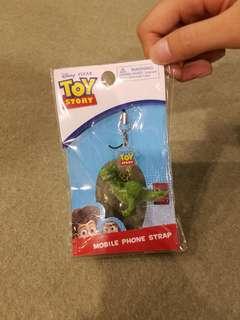 Diseny Toy Story Mobile Phone Strap( 迪士尼玩具反斗兵恐龍手機繩)
