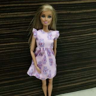 Barbie Cloth Set only (without Doll)