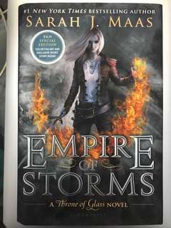 B&N Special Edition Empire of Storms by Sarah J. Maas