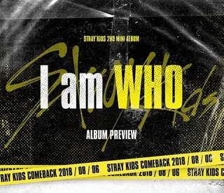 Straykids 2nd Mini Album - I am WHO