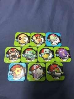 Pokemon Tretta Chip