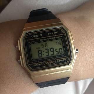 Jam Tangan Casio F-91W