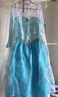 DISNEYLAND Elsa Dress / Frozen Costume