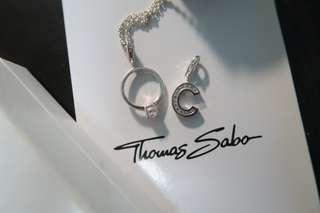 Thomas Sabo 頸鏈連2 charms