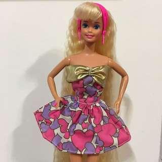 Vintage Barbie Mattel dress