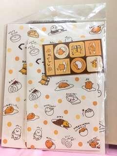(重Po 限時減價!!!)蛋黃哥信封及信紙