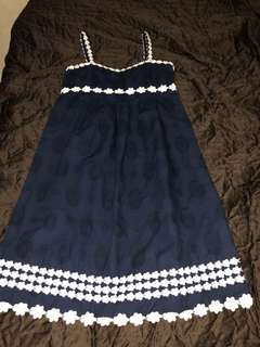 Juicy couture navy blue dress size 4