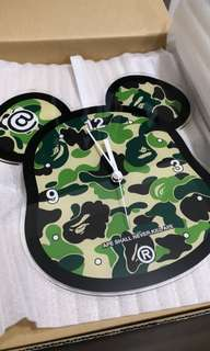 Bape x Medicom Bearbrick Wall Clock