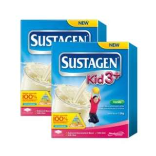 Sustagen Kid 3+ Vanilla - 1.2kg x 2 Bundle