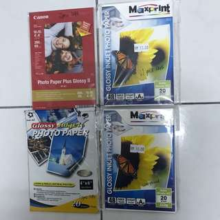 All for RM10>Glossy Inkjet Photo Paper