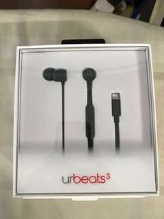 urbeats 3 lighting cable