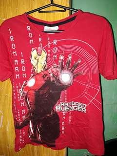 Avengers original iron man red