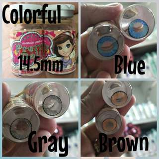 Pretty Doll Lens With Free Case+Solution