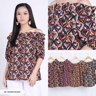 Sabrina/Shoulder Blouse Motif