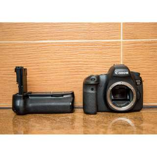 Canon 6D + meike vertical grip SC29XXX