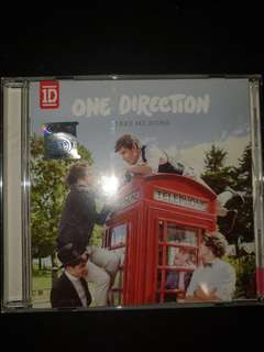 ONE DIRECTION TAKE ME HOME ALBUM