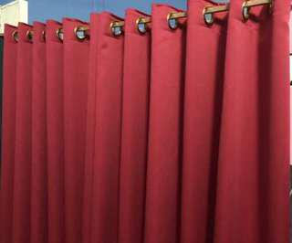 Very nice Red wain Curtains
