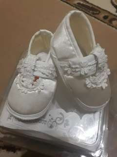 Baptismal Dress and Shoes