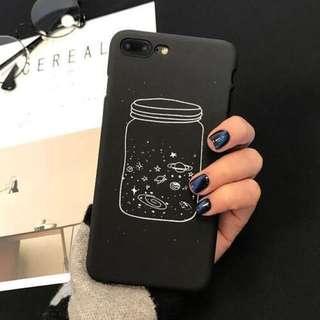 🌻BRANDNEW🌻 Iphone 6 Wishing Bottle Black Matte Hard Case