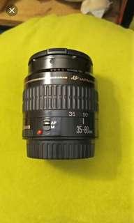 canon 650d lens 18-135 STM + 35-80 MM