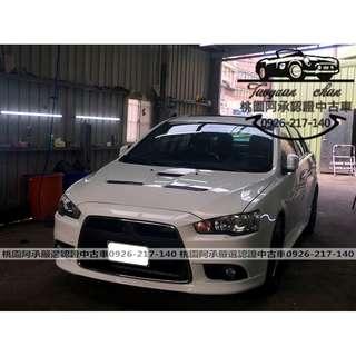 【FB搜尋桃園阿承】三菱 超人氣FORTIS 2012年 2.0 白色 二手車 中古車
