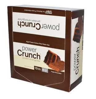 Power Crunch 三重巧克力蛋白棒(12條)
