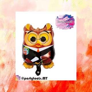 Balon Foil / Balon graduation / balon karakter owl