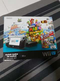 Preloved Wii U console with 2 games