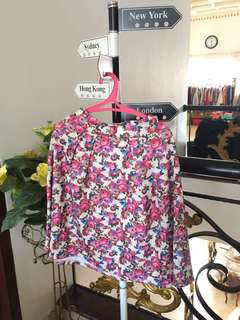 Skirt with Flower