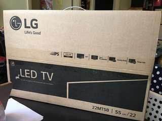 LG LED TV 22寸