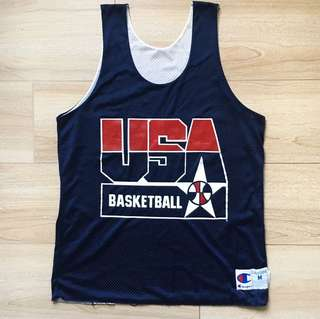 Champion Dream Team Reversible Jersey USA vintage