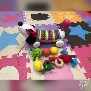 Children Toys Bundle (Leapfrog Alphapup + Sassy Caterpillar)