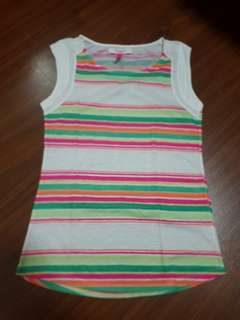 Kaos rainbow stripe