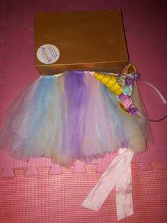 Unicorn Tutu and head dress