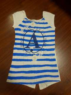 Kaos blue stripe