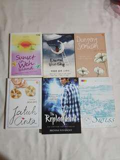 Novel indo dan terjemahan mulus