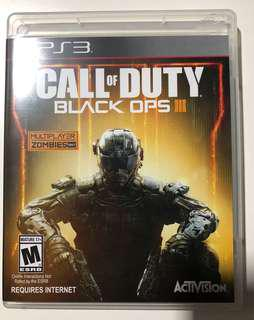 Call of Duty: Black OPS III, PS3 game, PS3 遊戲, COD, Activision