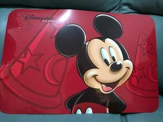 巴黎迪士尼 直送 米奇老鼠 檯墊 桌墊 Paris Disneyland Mickey Mouse