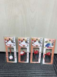 Japanese Hanging charm lucky cat fortune