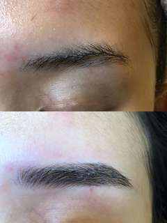 3D Eyebrow Mircostroking