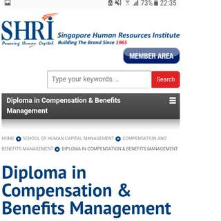 Wanted: SHRI Compensation & benefits notes and textbooks