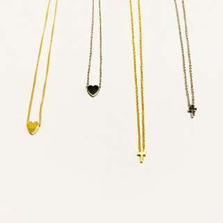 Dainty Cross necklace *stainless, non-tarnish*