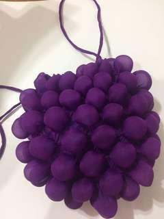 葡萄造型束口袋