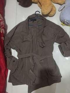 Forever21 parka like jacket soft